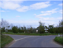 TM3886 : Top Road, Ilketshall St. Andrew by Adrian Cable