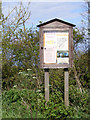 TM3886 : Ilketshall St.Andrew Village Notice Board by Adrian Cable