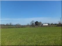 SJ2734 : Footpath across a grass field by John Haynes