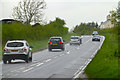 SP8942 : The A509 south of Newport Stables by David Lally