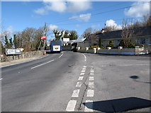 H9618 : The B30 at its junction with Carrive Road by Eric Jones