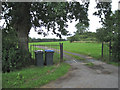 SP0963 : Entrance, Morton Common Farm by Robin Stott