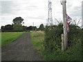 SP1063 : Public footpath towards Morton Common Farm by Robin Stott