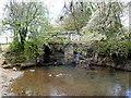 ST7414 : Bridge over the Caundle Brook by Nigel Mykura