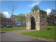 SD4364 : Poulton Hall archway, Morecambe by Karl and Ali