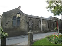 SE1223 : Former National School - Church Lane by Betty Longbottom