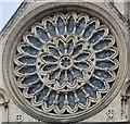 SE6052 : Rose Window, York Minster by Julian P Guffogg