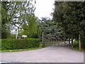 TM3685 : Entrance to Ilketshall Hall by Adrian Cable