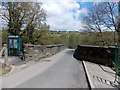 ST1599 : Across Angel Lane bridge, Gilfach by Jaggery
