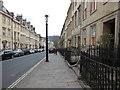 ST7465 : The Cotswold Way on Gay Street, Bath by Ian S