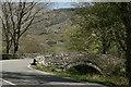 SH6143 : Pont Garreg-Hylldrem, Gwynedd by Peter Trimming