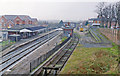 SP0344 : Evesham (ex-GWR) station, 1993 by Ben Brooksbank