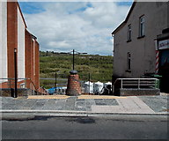 ST1599 : Top of steps down from Hanbury Road, Bargoed by Jaggery