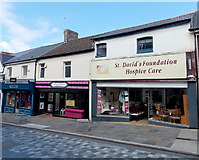 ST1599 : St David's Foundation Hospice Care charity shop, Bargoed by Jaggery