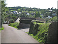 SX9272 : Looking down Peppery Lane, Ringmore by Robin Stott