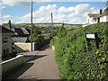 SX9272 : Looking down Brook Lane, Ringmore by Robin Stott