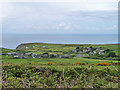 SW4537 : View from Trewey Hill by Robin Webster