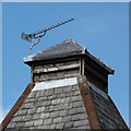 SU7438 : Rycote Oast ventilator by Oast House Archive