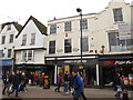 TR1457 : High Street shops, Canterbury by Stephen Craven