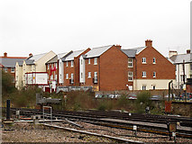 TR1458 : New houses near Canterbury West station by Stephen Craven