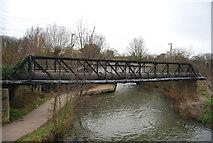 TL3706 : Pipeline bridge, River Lea by N Chadwick