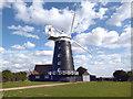 TF8343 : Burnham Overy Staithe Windmill by Des Blenkinsopp