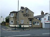 SE1431 : George & Dragon pub, Great Horton Road by JThomas