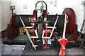 SJ8333 : Mill Meece Pumping Station - winch by Chris Allen