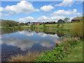 SN0613 : The lake at Bluestone holiday village by Gareth James