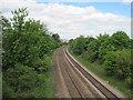 SE3333 : Osmondthorpe Halt railway station (site), Yorkshire by Nigel Thompson
