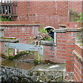 SO4593 : Drainage channel on Watling Street North by Graham Horn