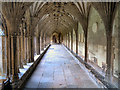 TR1557 : Cloister, Canterbury Cathedral by David Dixon