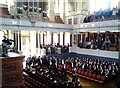 SP5106 : Graduation ceremony, Sheldonian Theatre, Oxford by Claire MacNeill