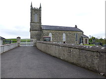 H5956 : Entrance to Ballynasaggart Church of Ireland by Kenneth  Allen