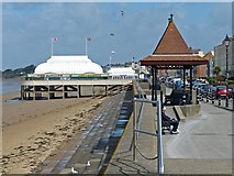 ST3049 : The Pier, Burnham-On-Sea by Robin Drayton