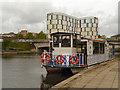 TQ7555 : River Medway, Allington Belle by David Dixon