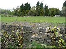 SE0721 : The eastern end of Elland Footpath 44 by Humphrey Bolton