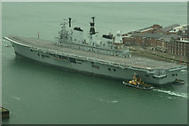 SZ6299 : Farewell to HMS Ark Royal (7) by Peter Trimming