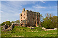 NT9047 : Norham Castle (3) by Mike Searle