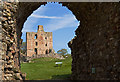 NT9047 : Norham Castle (4) by Mike Searle