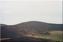 NJ5305 : A view eastwards from Craiglich summit by Stanley Howe