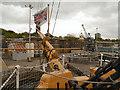 TQ7569 : Chatham Royal Dockyard by David Dixon