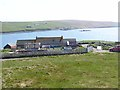 HU3347 : Farm above Garderhouse Voe by Oliver Dixon