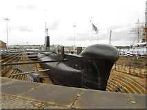 TQ7569 : HMS Ocelot, Chatham Historic Dockyard by David Dixon