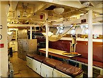 TQ7569 : HMS Cavalier Crew's Quarters by David Dixon