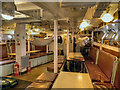 TQ7569 : HMS Cavalier (interior view) by David Dixon