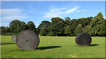 SE2812 : Michael Zwingmann: Invasion, 1999, Yorkshire Sculpture Park by Robin Stott