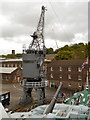 TQ7569 : Crane, Chatham Dockyard by David Dixon