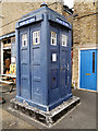 TQ7569 : Chatham Dockyard, Police Box Outside the Kent Police Museum by David Dixon