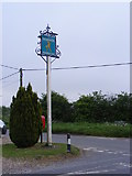 TG1422 : The Ratcatchers Inn Public House sign & Ratcatchers Public House Postbox by Adrian Cable